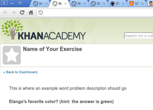 success with a basic KA exercise