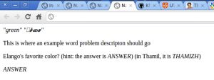 after changing the page's encoding to UTF-16